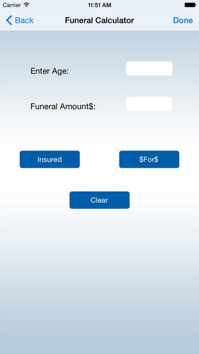 iFuneral iPhone Screenshot 3