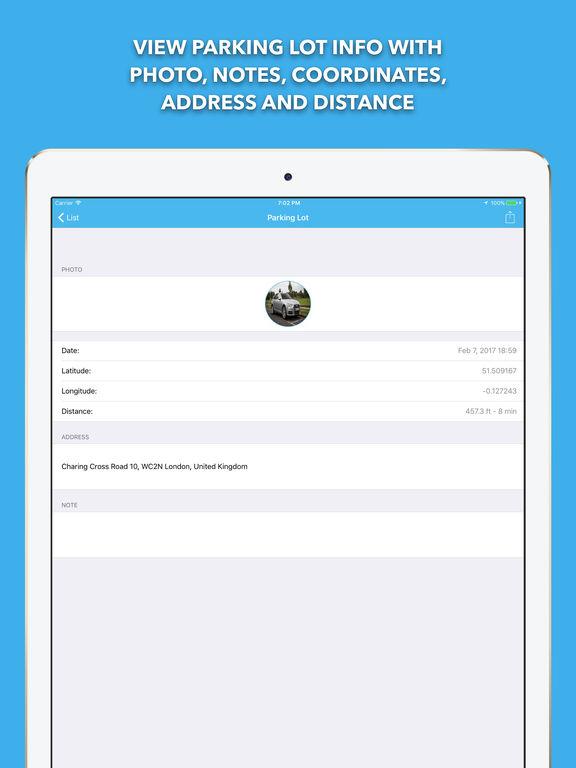 ParkManager Pro - park find car & GPS Tracker Screenshots