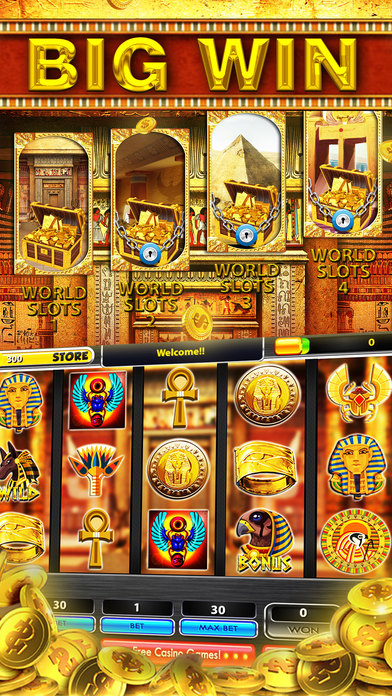 free slots egyptian treasures