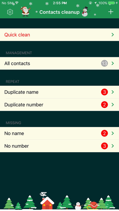 Contact Cleaner Pro–Smart Merge Duplicate Contacts Screenshots