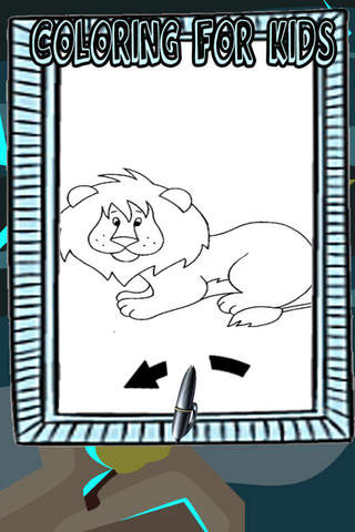 Animals Coloring Pages for Kid HD screenshot 1