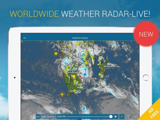 Weather & Radar Pro Ad-Free Screenshots