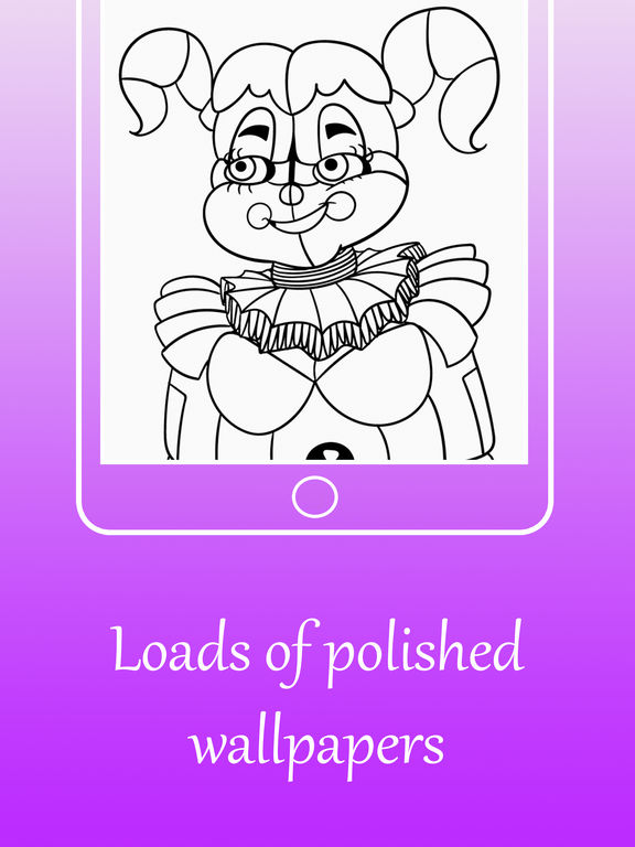 Coloring Pages For FNAF Sister Location On The App Store