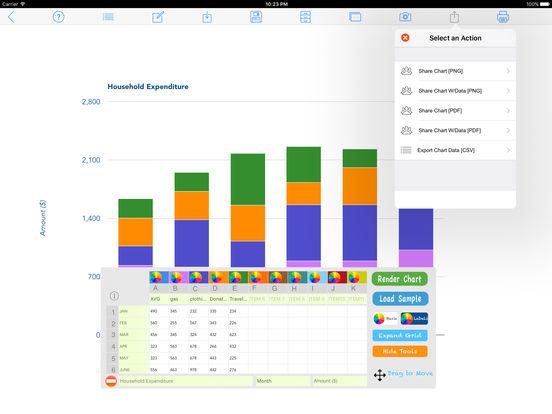 Knitting Chart Maker Ipad : Chart maker pro on the app store