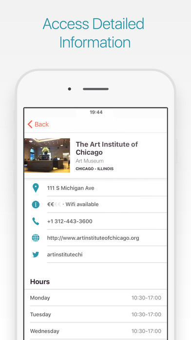 Chicago 2Go iPhone Screenshot 2