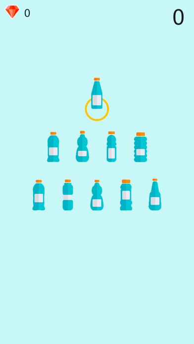 Falling Bottle Challenge Screenshot