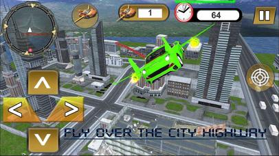 Flying Jet Cars: Extreme Supercars Robots screenshot 2