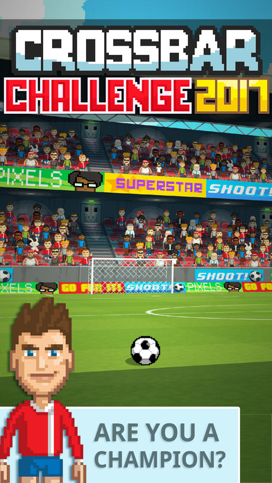 Crossbar Challenge - New Soccer Game launches on iOS and Android Image