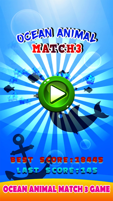 Ocean Animal Match 3 - Sea Matching Games screenshot 2