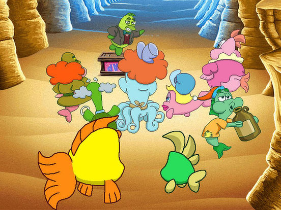 Freddi Fish 5: The Creature of Coral Cove на iPad