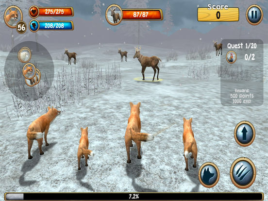 3D Wild Fox Real Simulator Premium Screenshots