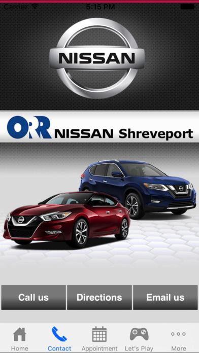 App Shopper Orr Nissan Shreveport Business