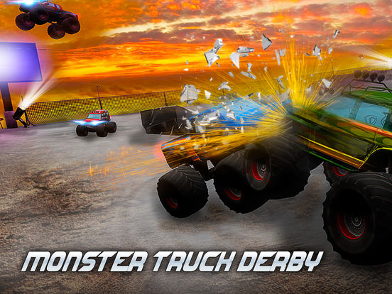Monster Truck Derby: Bigfoot Arena Full на iPad