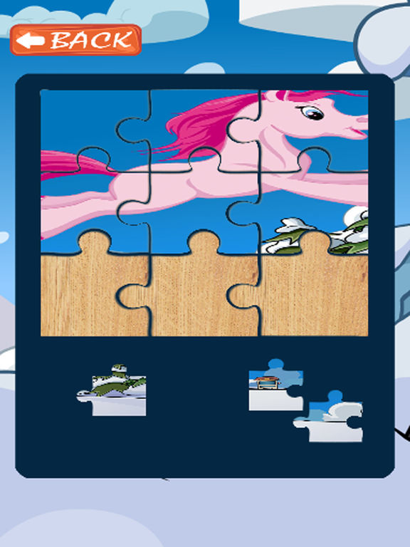 Kids Jigsaw Puzzles Games Pony Version screenshot 4