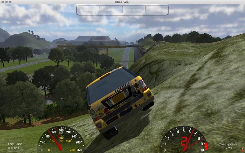 岛上赛车 Island Racer for Mac