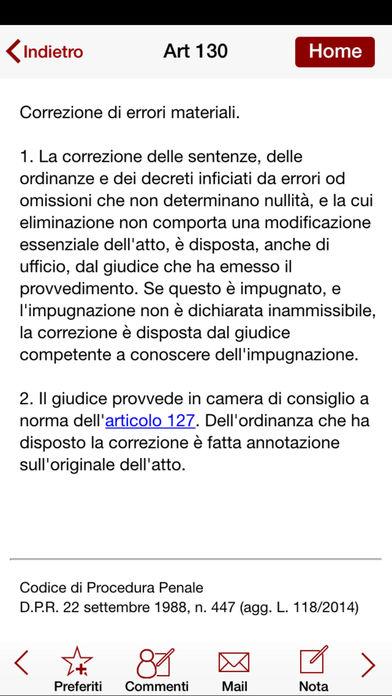 Civile iPhone Screenshot 3