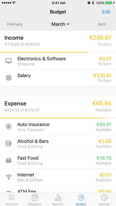 Money 5 Apps for iPhone/iPad screenshot