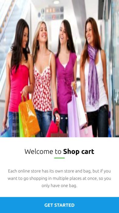 Shop Cart screenshot 1