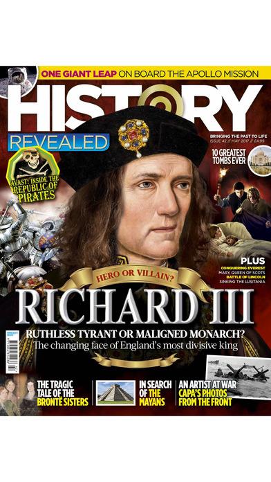 History Revealed magazine app image