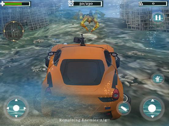 Underwater Robot Car Transformation screenshot 10
