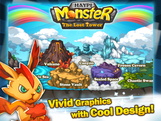 Скачать игру Haypi Monster:The Lost Tower
