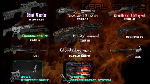 Real Strike-The Original 3D AR FPS Gun app Screenshots