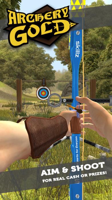 Screenshot 1 Archery Gold — Win Cash With Skillz