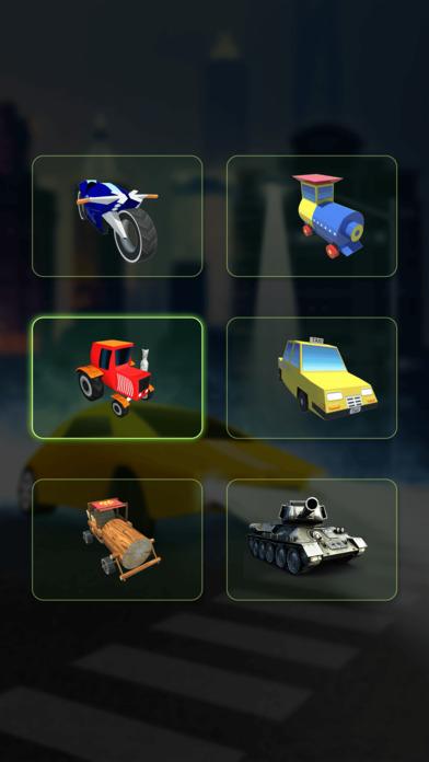 Mini Train Street Rush screenshot 2