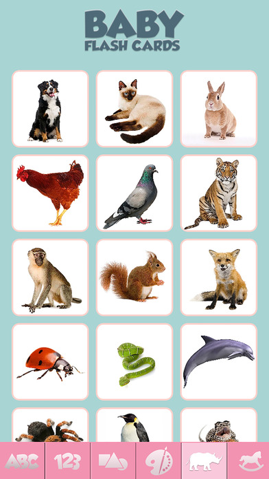 App Shopper: Baby Flash Cards Game Learn Alphabet Numbers ...