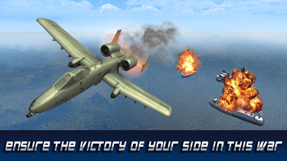 F18 Carrier Airplane Flight Simulator screenshot 4