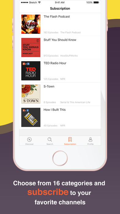 CastBox - The Podcast App screenshot 4