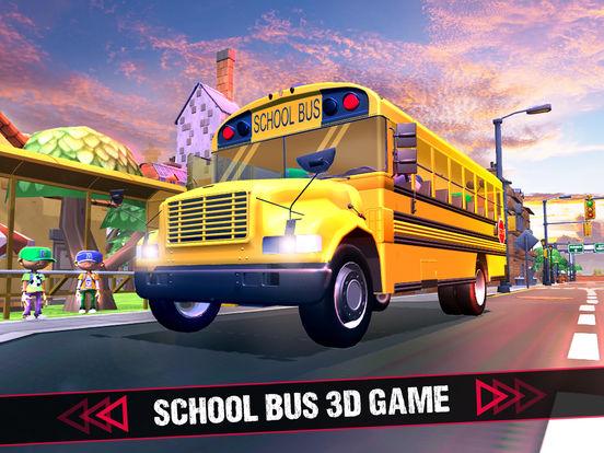 School Bus 3D Game screenshot 5