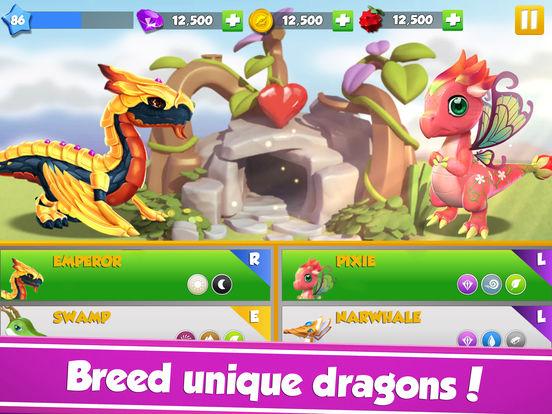 Dragon Mania Legends: Dragon Breeding Gamescreeshot 4