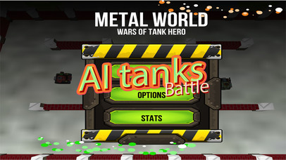 Wars of Tank Hero Metal World screenshot 3