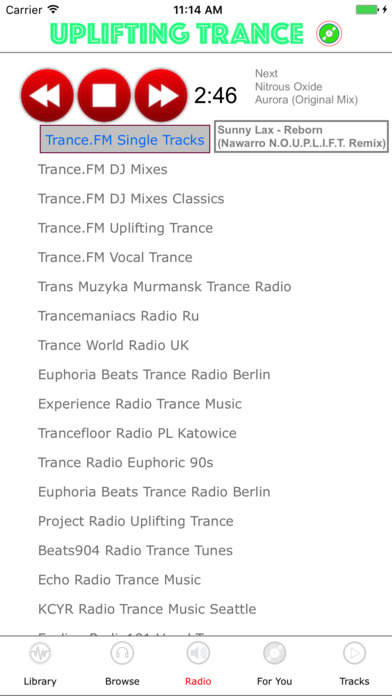 Uplifting Trance Screenshots