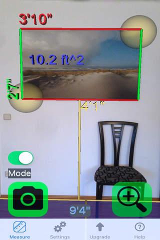 Tape Measure Camera Ruler 3D screenshot 2