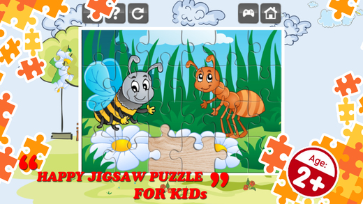 Birds And Bugs Magic Jigsaw Puzzle Games On The App Store