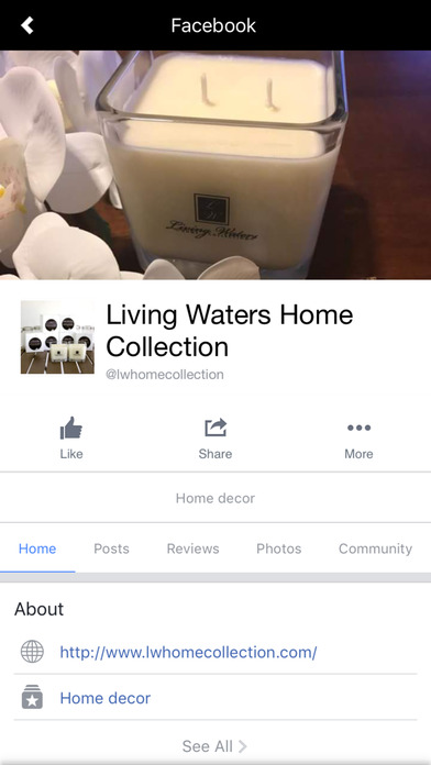 Living Waters Home Collection screenshot 3