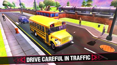 School Bus 3D Game screenshot 3