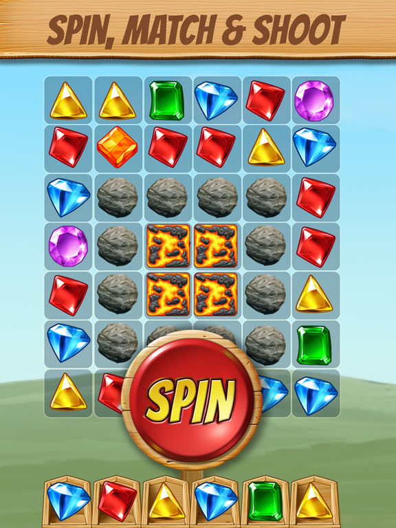 Cascade: Fun Spin and Match Puzzle Gamescreeshot 1