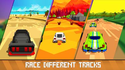Horizon Blocky Racing Full screenshot 3