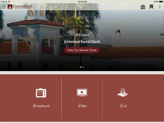 Screenshot #3 for Emmanuel Baptist Church, Coconut Creek FL