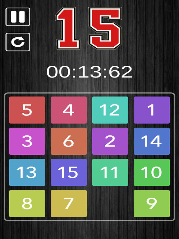 Slide Puzzle 15 screenshot 5