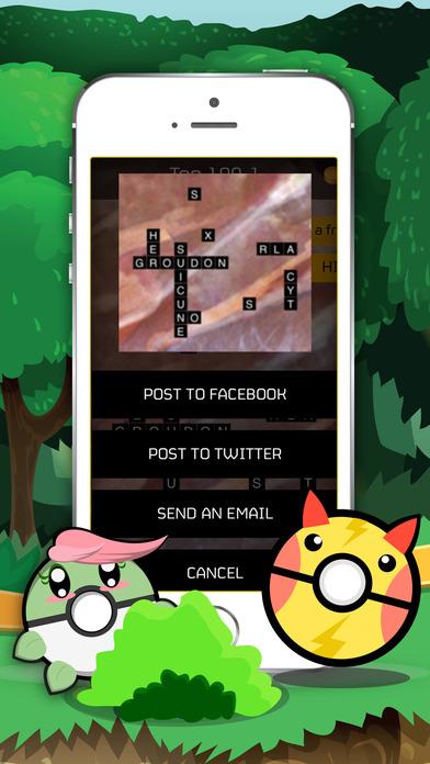Words Quiz Pocket Monster Pro screenshot 2