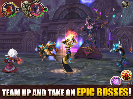 Screenshots of Order & Chaos Online for iPad
