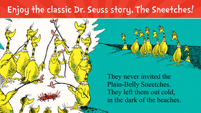 The Sneetches by Dr. Seuss screenshot 1