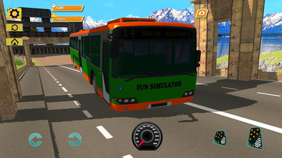 Bus Simulator : Extreme Offroad Drive screenshot 2