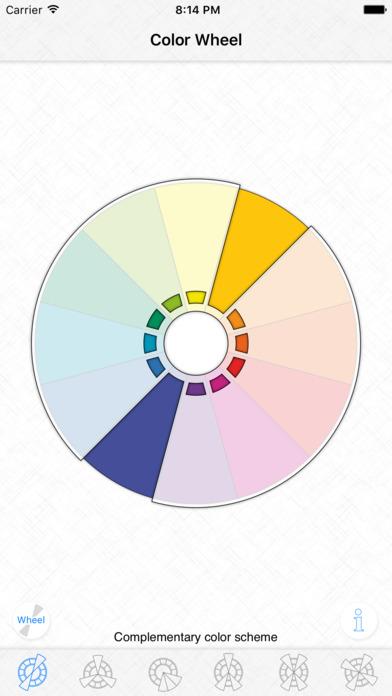 Color Wheel Basic Color Schemes App Store