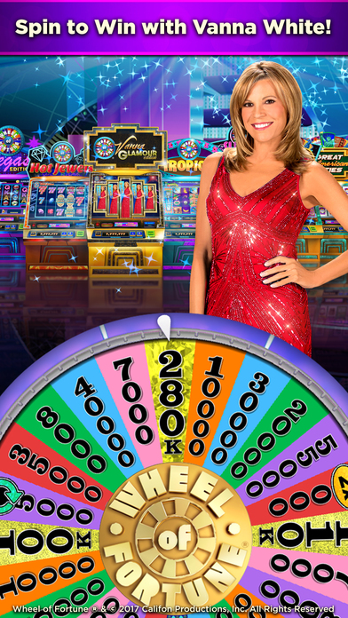 Wheel of Fortune Slots Casino with Vanna White hack tool Credits Spin