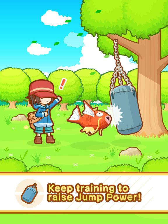Image of Pokémon: Magikarp Jump for iPad